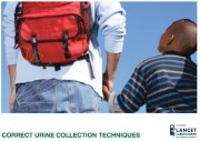 Correct urine collection techniques