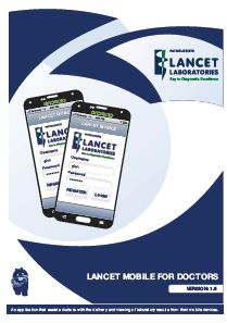Lancet Mobile Dr